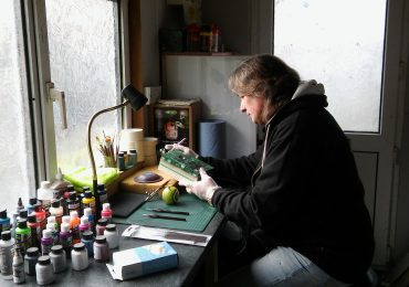 llanelli, airbrushing, custom, motorcycle, paint